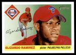 2004 Topps Heritage #321  Elizardo Ramirez  Front Thumbnail
