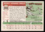 2004 Topps Heritage #340  Jeff Cirillo  Back Thumbnail