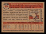 2006 Topps Heritage #89  Mark Ellis  Back Thumbnail