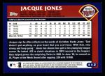 2003 Topps #112  Jacque Jones  Back Thumbnail