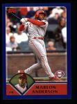 2003 Topps #155  Marlon Anderson  Front Thumbnail