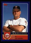 2003 Topps #278  Ron Gardenhire  Front Thumbnail