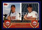 2003 Topps #329   -  Michael Cuddyer / Michael Restovich Future Stars Front Thumbnail