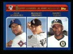 2003 Topps #340   -  Alex Rodriguez / Magglio Ordonez / Miguel Tejada AL RBI Leaders Front Thumbnail