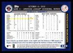 2003 Topps #349   AL Division Angels Back Thumbnail
