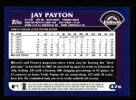 2003 Topps #476  Jay Payton  Back Thumbnail