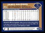 2003 Topps #533  James Baldwin  Back Thumbnail