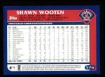 2003 Topps #576  Shawn Wooten  Back Thumbnail