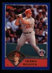 2003 Topps #576  Shawn Wooten  Front Thumbnail