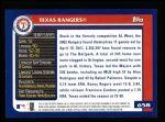 2003 Topps #658   Texas Rangers Team Back Thumbnail