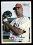 2006 Topps Heritage #386  Kelvim Escobar  Front Thumbnail