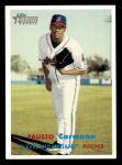 2006 Topps Heritage #150  Fausto Carmona  Front Thumbnail