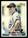 2006 Topps Heritage #24  Todd Helton  Front Thumbnail