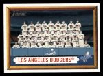 2006 Topps Heritage #324   Los Angeles Dodgers Team Front Thumbnail