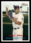 2006 Topps Heritage #115  Carlos Silva  Front Thumbnail