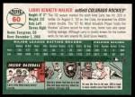 2003 Topps Heritage #60  Larry Walker  Back Thumbnail
