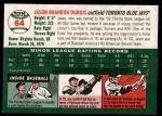 2003 Topps Heritage #64  Jason Dubois  Back Thumbnail