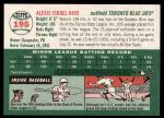 2003 Topps Heritage #195  Alexis Rios  Back Thumbnail