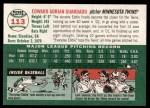 2003 Topps Heritage #113  Eddie Guardado  Back Thumbnail