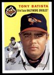 2003 Topps Heritage #207  Tony Batista  Front Thumbnail