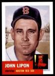 1953 Topps Archives #40  John Lipon  Front Thumbnail