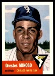 1953 Topps Archives #66  Minnie Minoso  Front Thumbnail