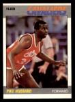 1987 Fleer #53  Phil Hubbard  Front Thumbnail