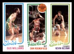 1980 Topps   -  Gus Williams / Dan Roundfield / Kevin Restani 233 / 20 / 211 Front Thumbnail