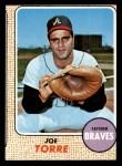 1968 Topps #30  Joe Torre  Front Thumbnail