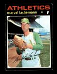 1971 Topps #84  Marcel Lachemann  Front Thumbnail