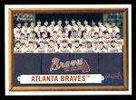 2006 Topps Heritage #114   Atlanta Braves Team Front Thumbnail