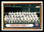 2006 Topps Heritage #183   Chicago Cubs Team Front Thumbnail