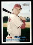 2006 Topps Heritage #253  Brad Wilkerson  Front Thumbnail