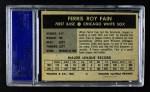 1954 Wilson Franks  Ferris Fain  Back Thumbnail