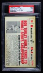 1960 Nu-Card Baseball Hi-Lites #30   -  Bob Turley Hurls Yanks to Championship Front Thumbnail