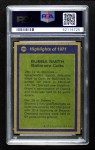 1972 Topps #278   -  Bubba Smith All-Pro Back Thumbnail