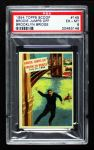 1954 Topps Scoop #145 xCOA  Brodie Jumps Off Brooklyn Bridge Front Thumbnail