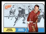 1968 Topps #29  Gordie Howe  Front Thumbnail