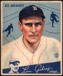 1934 Goudey #5  Ed Brandt  Front Thumbnail