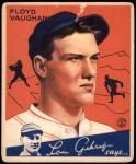 1934 Goudey #22  Floyd Vaughan  Front Thumbnail