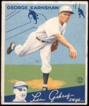 1934 Goudey #41  George Earnshaw  Front Thumbnail