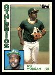 1984 Topps Traded #82  Joe Morgan  Front Thumbnail
