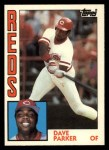 1984 Topps Traded #90  Dave Parker  Front Thumbnail