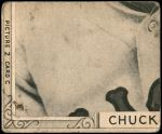 1935 Goudey 4-in-1  Charley Berry / Robert Burke / Red Kress / Dazzy Vance  Back Thumbnail