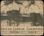 1935 Goudey 4-in-1  Lloyd Waner / Paul Waner / Guy Bush / Waite Hoyt  Back Thumbnail