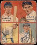 1935 Goudey 4-in-1  Lloyd Waner / Paul Waner / Guy Bush / Waite Hoyt  Front Thumbnail
