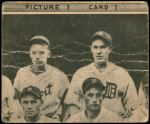 1935 Goudey  George Earnshaw / Jimmy Dykes / Luke Sewell / Luke Appling  Back Thumbnail
