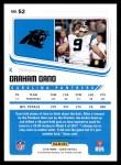 2018 Score #52  Graham Gano  Back Thumbnail