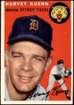 1954 Topps #25 WHT Harvey Kuenn  Front Thumbnail