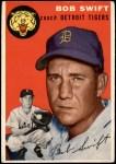 1954 Topps #65  Bob Swift  Front Thumbnail